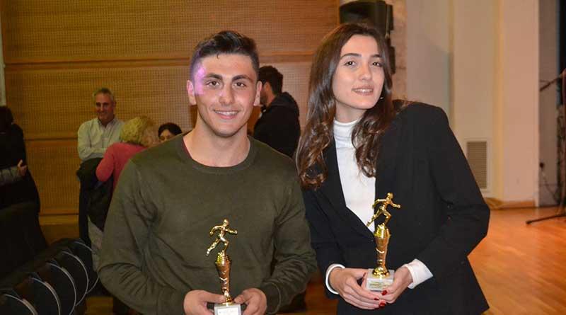 Γ.Σ. Λευκάδας: Βράβευση Αθλητών και Προπονητών από το ΣΕΓΑΣ