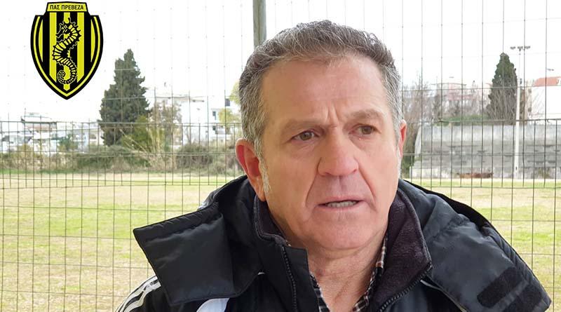 """Ξανθόπουλος: """"Συγχαρητήρια και στον αντίπαλο γιατί ενώ αγωνίστηκε με 10 παίκτες για μεγάλο χρονικό διάστημα, ανταποκρίθηκε."""""""