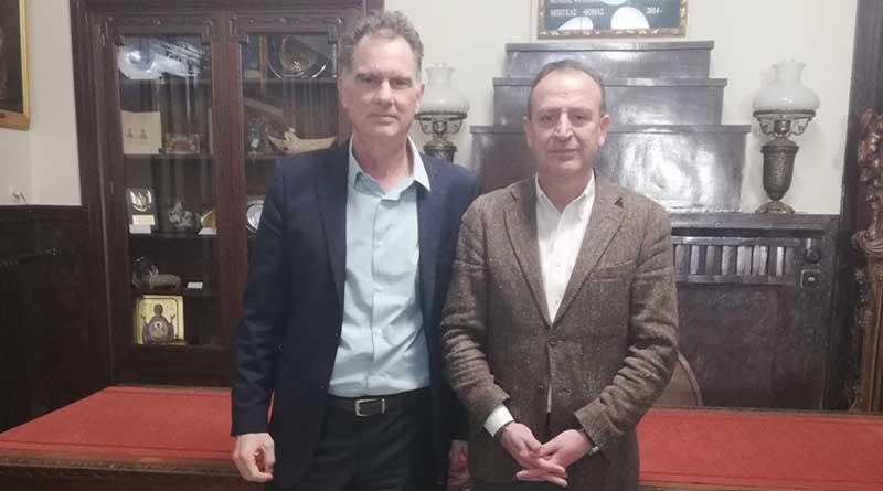 Ιωάννινα: Επίσκεψη Νίκου Παπανδρέου στο Δημαρχείο