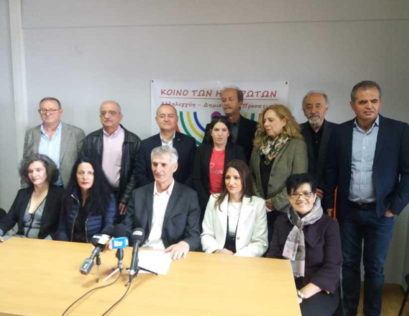 Κοινό των Ηπειρωτών: Άλλους 17 Υποψήφιους παρουσίασε ο Γ. Ζάψας