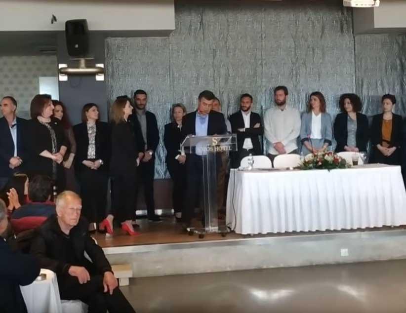 Τους υποψήφιους του παρουσίασε ο Γιώργος Αποστολάκης
