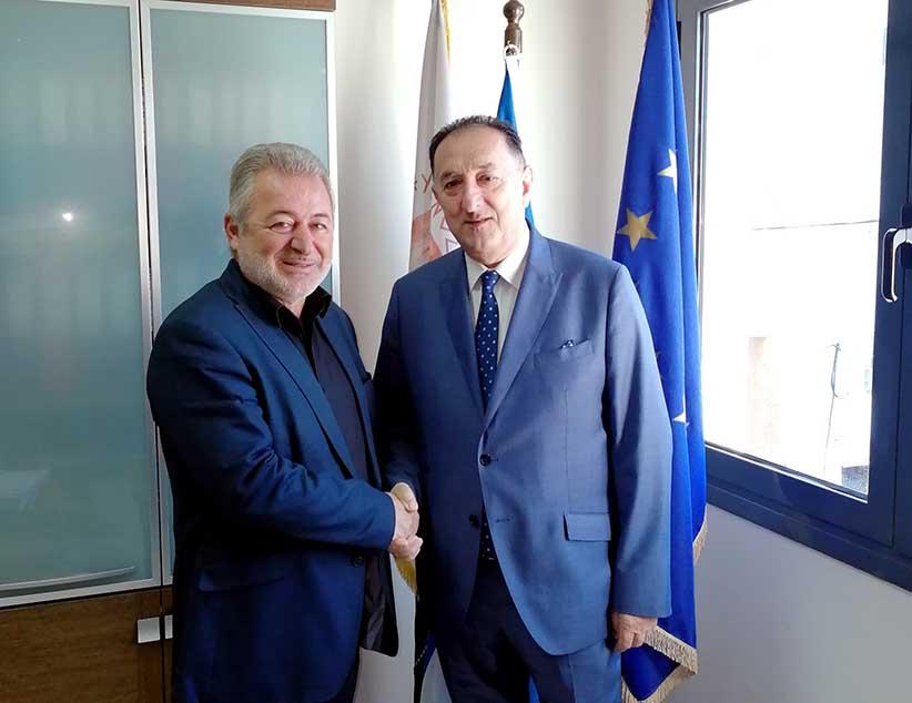 Ηγουμενίτσα: Συνάντηση με τον νέο Πρόεδρο της Πανηπειρωτικής Συνομοσπονδίας Ελλάδος