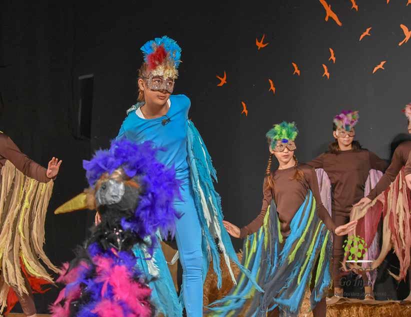 Έκλεψε την παράσταση το 6ο Δημοτικό Σχολείο Πρέβεζας με τις ''Όρνιθες'' του Αριστοφάνη