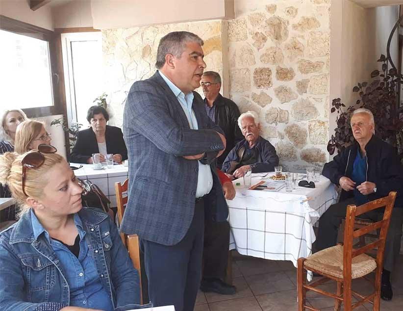 Περιοδεία σε Καμαρίνα, Κρυοπηγή και Εκκλησιές του υποψηφίου Δημάρχου Πρέβεζας κ. Νίκου Γεωργάκου και των υποψήφιων δημοτικών συμβούλων του συνδυασμού «Δήμος της Καρδιάς μας!»