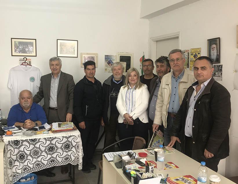 Τα γραφεία του Σωματείου ΑμεΑ Ν. Πρέβεζας «Η Ελπίδα» επισκέφτηκε ο Δήμαρχος Χ. Μπαίλης πλαισιωμένος από υποψήφιους του Συνδυασμού.