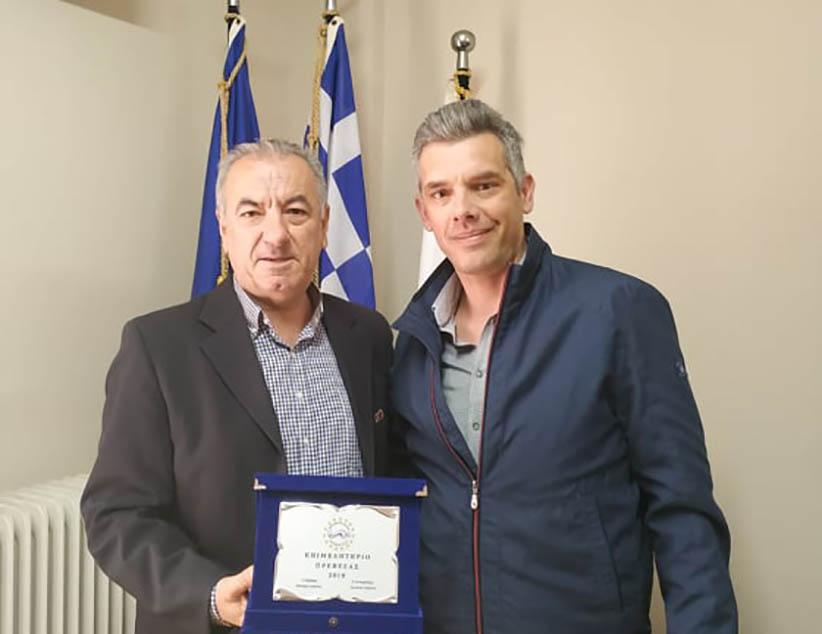 Επίσκεψη στο Επιμελητήριο Πρέβεζας πραγματοποίησε ο υποψήφιος δήμαρχος Πρέβεζας Βαγγέλης Ροπόκης