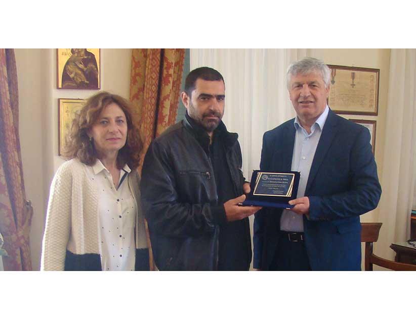 Ο Δήμος Πρέβεζας τίμησε τον εικαστικό  Κωσταντίνο Πιέτα.