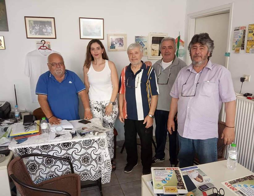 Τοπικούς Συλλόγους επισκέφτηκε η Υπ. Βουλευτής της ΝΔ Σέβη Κονταξή-Νάση