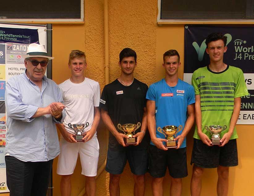 Στην τελική ευθεία το Preveza Tennis Tournament