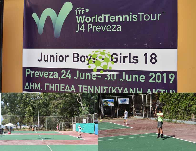 Πρέβεζα:Την Κυριακή 30/6 στις 18:30 οι τελικοί αγώνες τουτουρνουά World Tennis Tour J4
