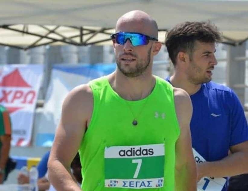 Πρωταθλητής Ελλάδος στα 100μ. ο Γιάννης Νυφαντόπουλος