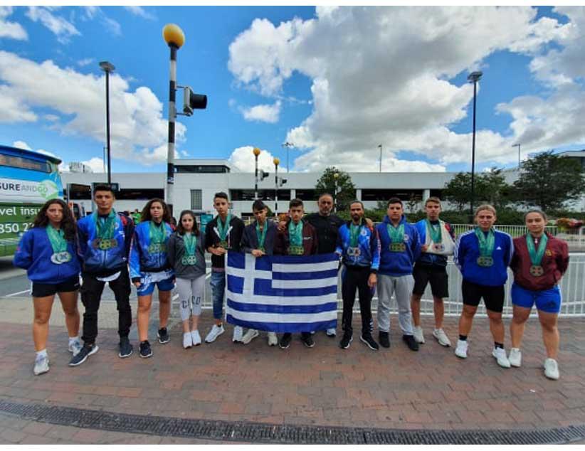 Με απόλυτη επιτυχία επιστρέφει η ελληνική αποστολή του tekwondo από το Πανευρωπαϊκό Πρωτάθλημα της Ιρλανδίας