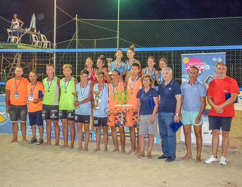 Ευχαριστίες της Ε.Ο.ΠΕ. για το Κ17 Juniors Final που διεξήχθη στην Πρέβεζα
