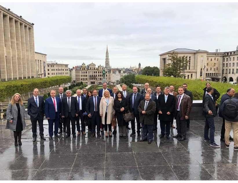 Συμμετοχή του Δημάρχου Πρέβεζας στις Βρυξέλλες σε ενημερώσεις για τα προγράμματα της Ευρωπαϊκής Ένωσης