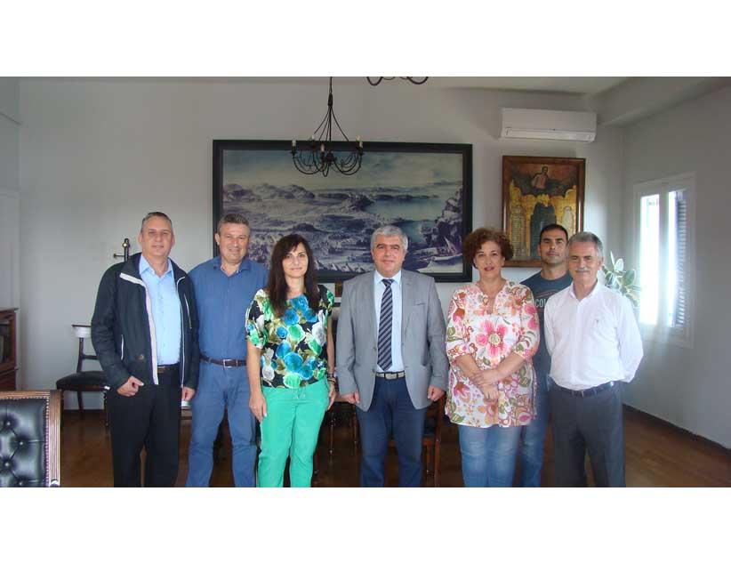 Συνάντηση του Δημάρχου Πρέβεζας με το Σύλλογο Τριτέκνων του Νομού.