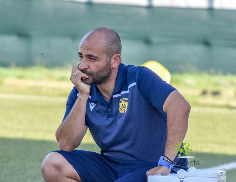 Βλάσης Ναστούλης: » Είμαι πολύ ευχαριστημένος από την προσπάθεια των ποδοσφαιριστών μου»