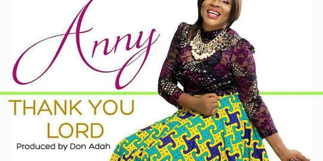 anny - thank you Lord