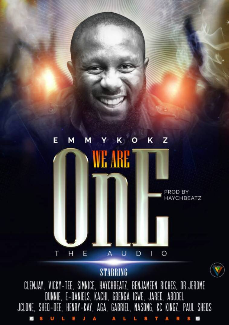 Cover art We are One