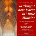 10 Lessons In Music MInistry