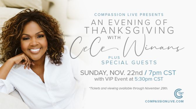CECE WINANS TO HEADLINE 'AN EVENING WITH CECE WINANS'