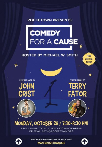 """MICHAEL W. SMITH TO HOST """"COMEDY FOR A CAUSE"""""""