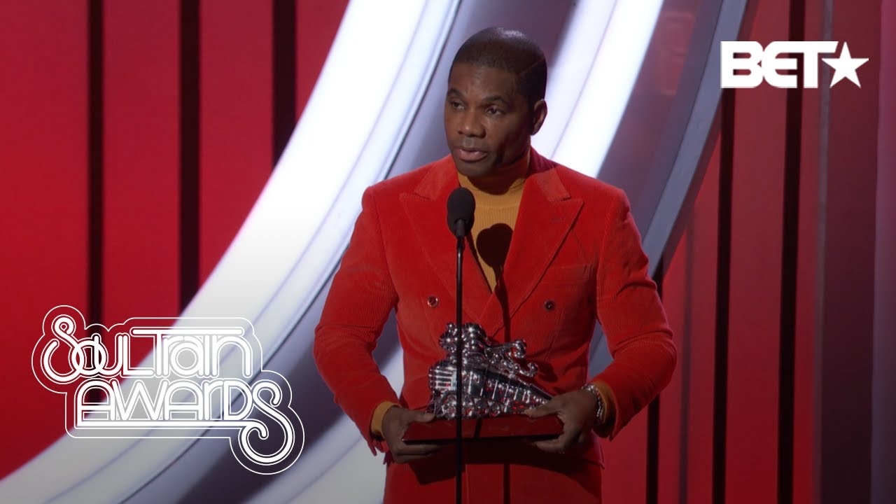 KIRK FRANKLIN WINS AT THE 2020 SOUL TRAIN AWARDS!