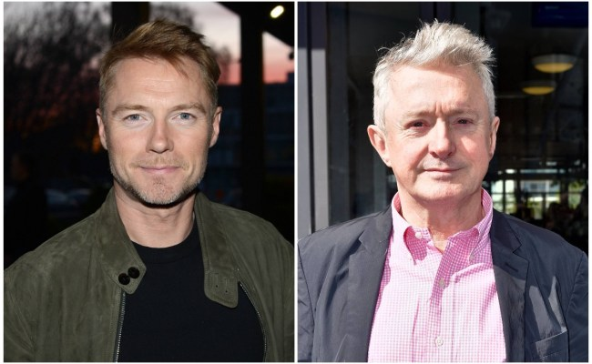Ronan Keating On Louis Walsh One Day He S Your Best