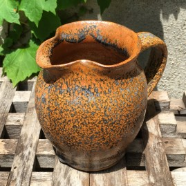 Small jug (shino over Anne's orange) *n/a
