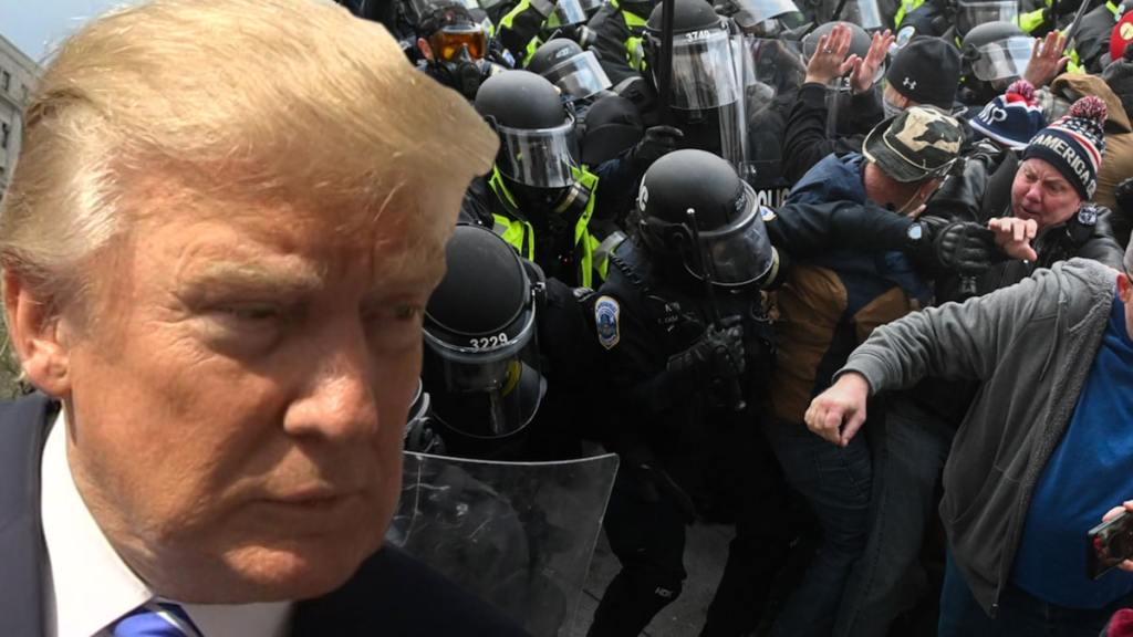 Donald Trump Sued by 2 Capitol Police Officers Over Jan. 6 Insurrection