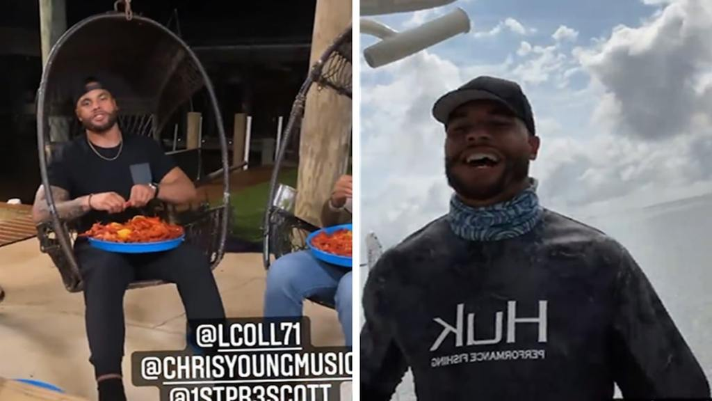 Dak Prescott Bros Down With Country Music Stars On Louisiana Fishing Trip