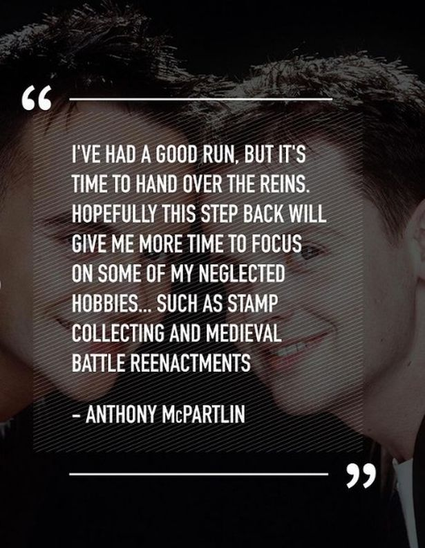 Ant McPartlin's April Fool's Day statement