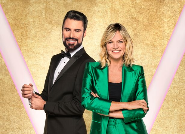 Zoe was joined by Rylan last year on the programme