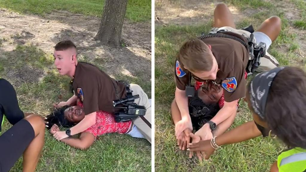 Texas Cop Mounts Black Teen While She Screams 'I Can't Breathe'
