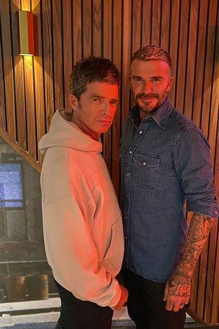 David Beckham praised the singer on Instagram