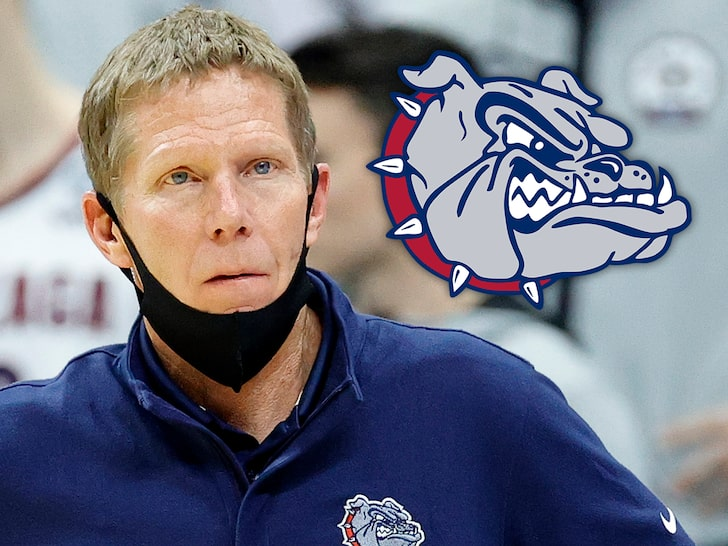 Gonzaga Coach Mark Few Suspended Following DUI Stop, Will Miss 1st Game
