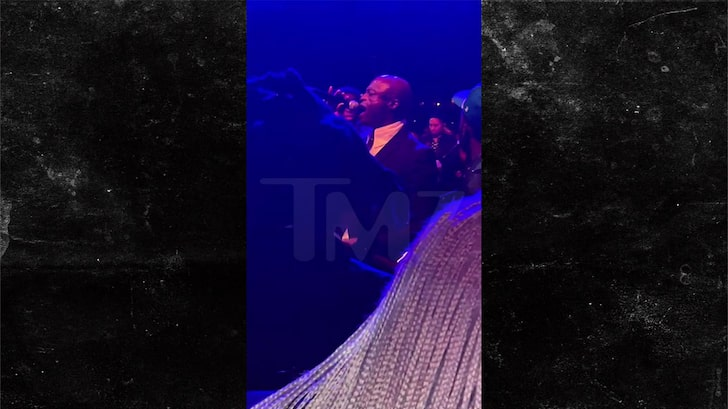 Jay-Z Performs 'Watch The Throne' Track at 'Harder They Fall' Screening