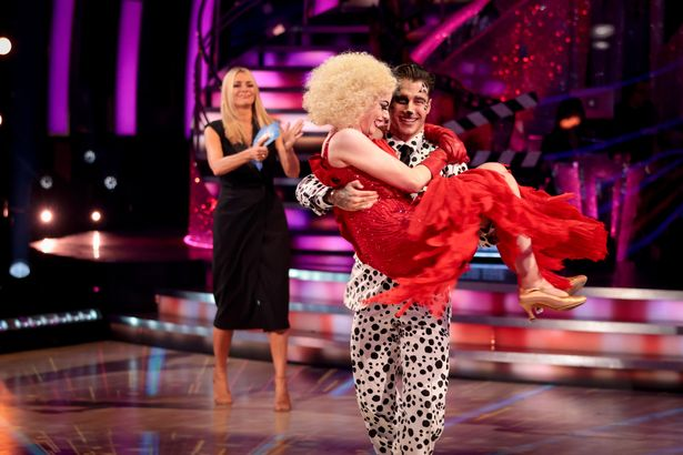 Viewers were furious that Katie had left when she wasn't the worst dancer
