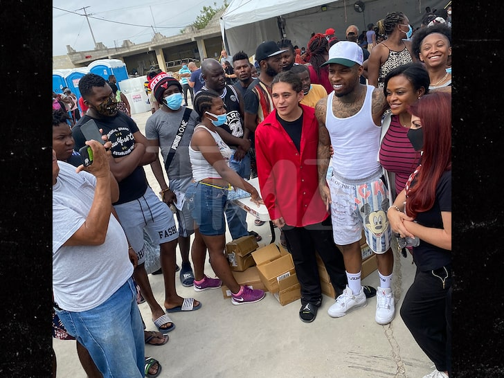 Tory Lanez Heads Down to Southern Texas Border for Haitian Migrant Relief