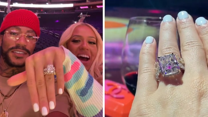 Derrick Rose Proposes to Girlfriend At Madison Square Garden, Massive Ring