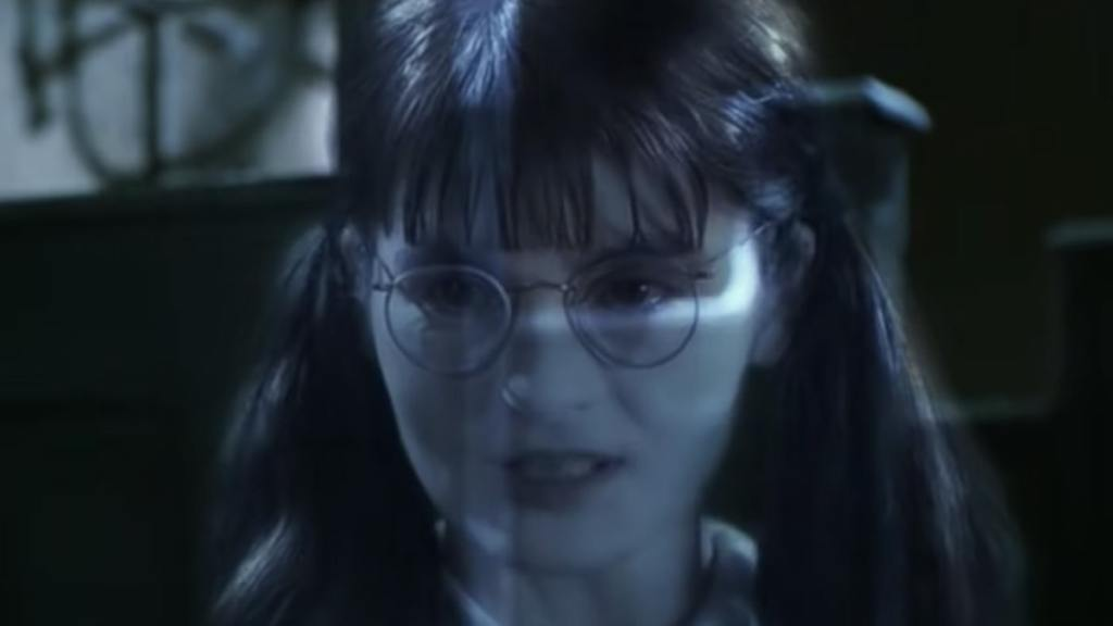 Moaning Myrtle in 'Harry Potter' 'Memba Her?!