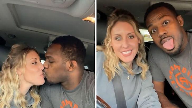 Jon Jones Posts Kissing Vid With Fiancée One Week After Domestic Violence Arrest