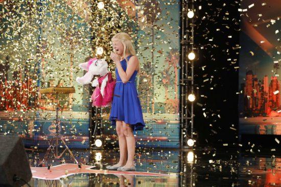 Americas Got Talent 2017 Darci Lynne Gets Golden Buzzer