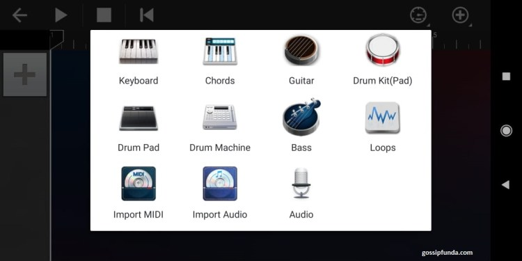 options to choose in walkband