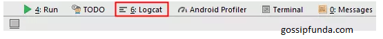 Android Studio Logcat and Recycler View.
