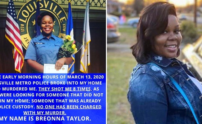 Breonna Taylor 26 Year Old Louisville Emt Killed In Her