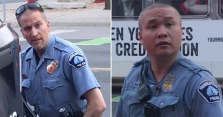 It is Revealed That the White Cop who Knelt on George Floyd's Neck was Involved in a Fatal Police Shooting and One of the Other Fired Officers Paid a K Settlement After Being Sued for Using Excessive Force in Arrest