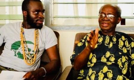 Manifest's grandfather dead, Emeritus Professor J H. Kwabena Nketia Reported Dead