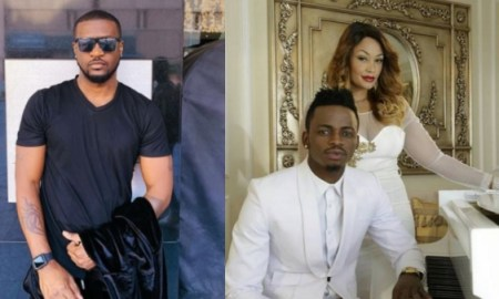 Diamond Platnumz is stupi!d to say I slept with his ex-wife Zari – Peter of PSquare