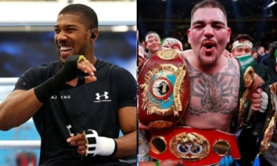 Ruiz vs Joshua, Anthony Joshua Gets Re-match With Andy Ruiz In November