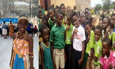 Dj Switch Foundation Donates Desks To Zion School In Cape Coast